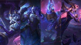 Cosmic skins 2020, Anivia, Illaoi, Nami, Varus, Dark Cosmic Lissandra