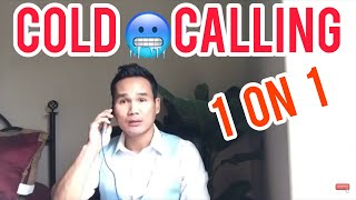 Real estate live Cold Calling roll play