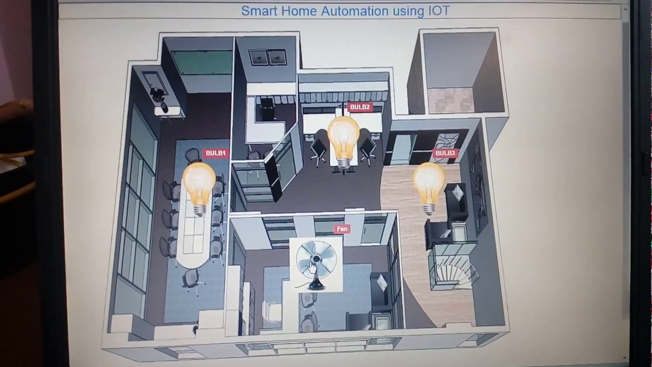 iot projects smart home automation using iot youtube. Black Bedroom Furniture Sets. Home Design Ideas