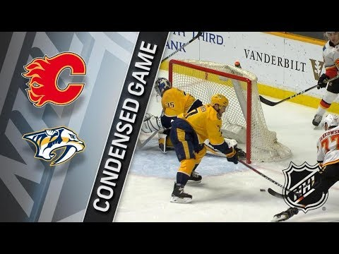 Calgary Flames vs Nashville Predators – Feb. 15, 2018 | Game Highlights | NHL 2017/18. Обзор