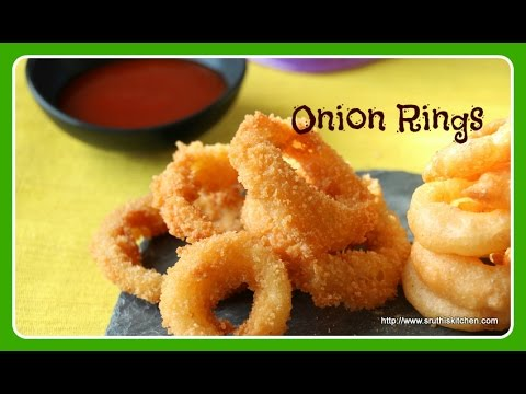 how to make easy onion rings