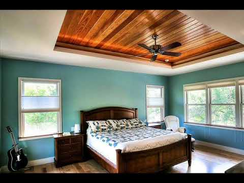 best wood ceiling ideas on your bedroom