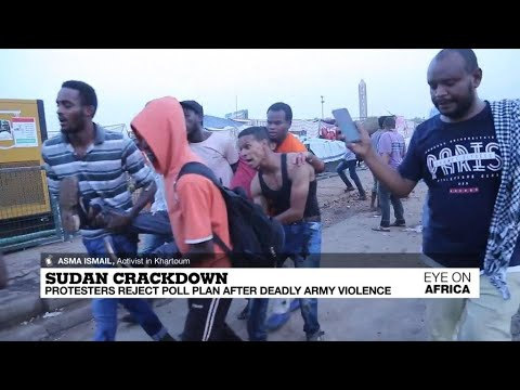 Sudan crackdown: protestors reject call for snap election after deadly army violence