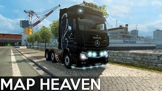 Map Heaven - Awesome Map Combo (Euro Truck Simulator 2)