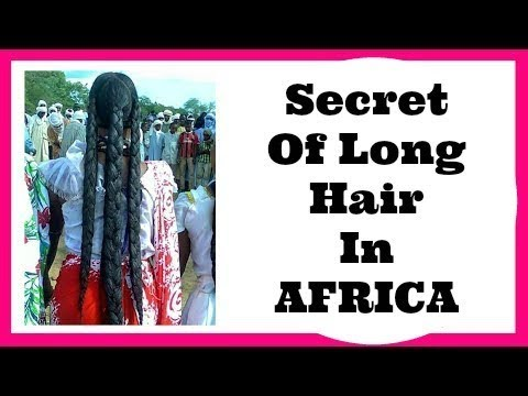 Natural Long kinky hair secret from Chad in Africa - Must Watch- CHEBE POWDER