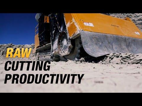 T1255 Commander® 3 Terrain Leveler® surface excavation Machine   Vermeer Surface Mining