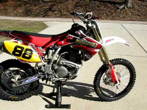 Sound of my 2008 CRF150R - YouTube