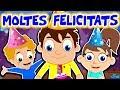 MOLTES FELICITATS | Cançó de feliç aniversari per a nens | Happy Birthday Song in Catalan