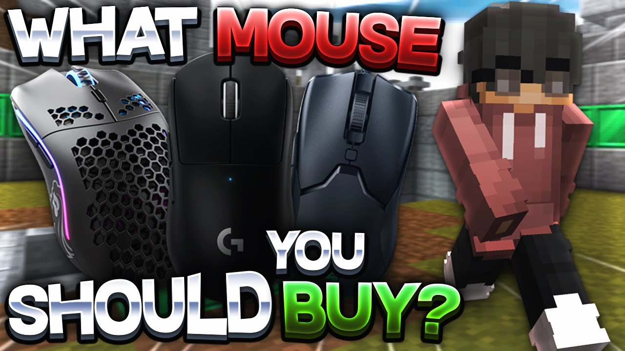Gaming Mouse Buyer's Guide for Minecraft | Best Mice for PvP and Bridging in 2021!