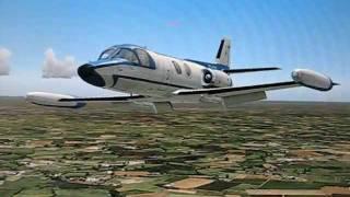 Piaggio PD-808 Landing