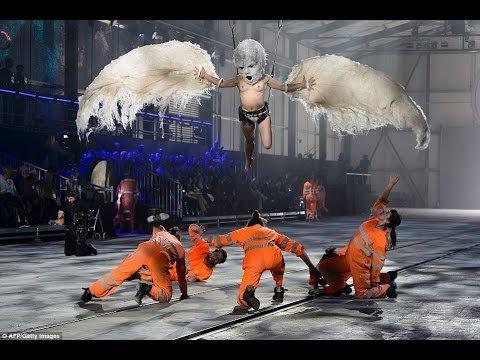 アルプス最長トンネルの開通式で悪魔崇拝ショー。これを好む人たちとは絶対に仲良くなれないだろ(笑)。独自進化した新種人類=レプティリアン?