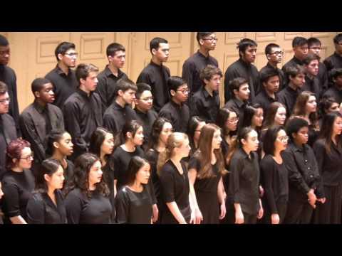 BOSTON LATIN CONCERT CHOIR Gold Medal Showcase 2017 Boston Symphony Hall (part 1)