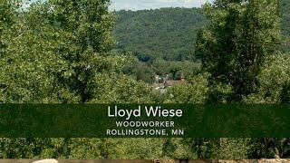 Lloyd Wiese; Woodworker