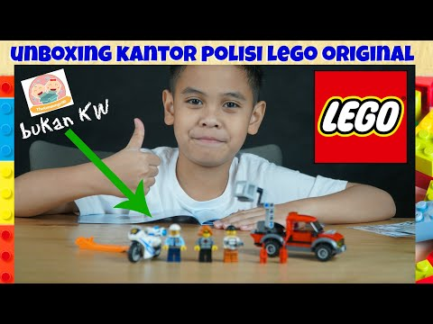Unboxing LEGO POLICE STATION  TheRempongs