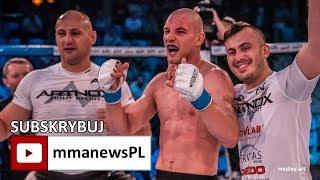 """Kamil Dołgowski poddał Oleksiejczuka na TFL 15: """"Zacisnąłem zęby i wygrałem."""""""