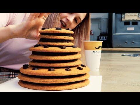 Giant Cookie Cake Challenge (12,000+ Calories)