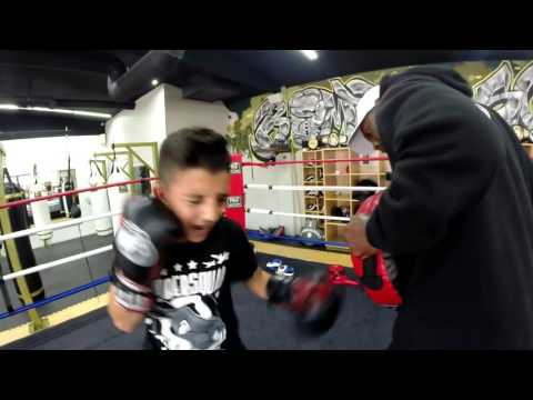 #1 ranked in the U.S.A Julius Ballo of Bomber Squad San Diego EsNews Boxing