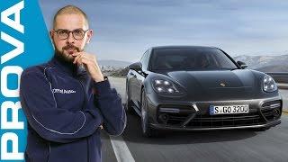 Nuova Porsche Panamera Turbo (2017) | La nostra prova su strada(La Porsche Panamera Turbo è lunga oltre 5 metri ma vuole essere sportiva come la