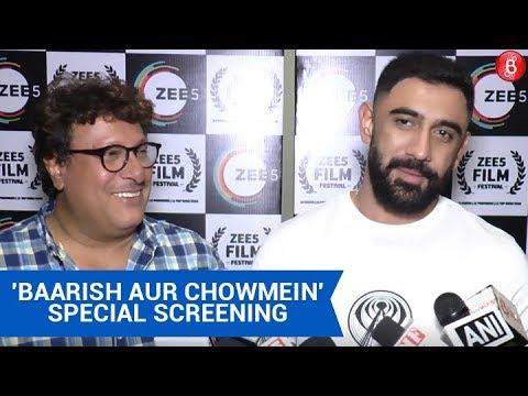 Download Amit Sadh On Tigmanshu Dhulia At 'Baarish Aur Chowmein' Special Screening!