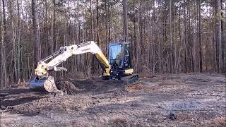 Trying The New Mini Excavator Out