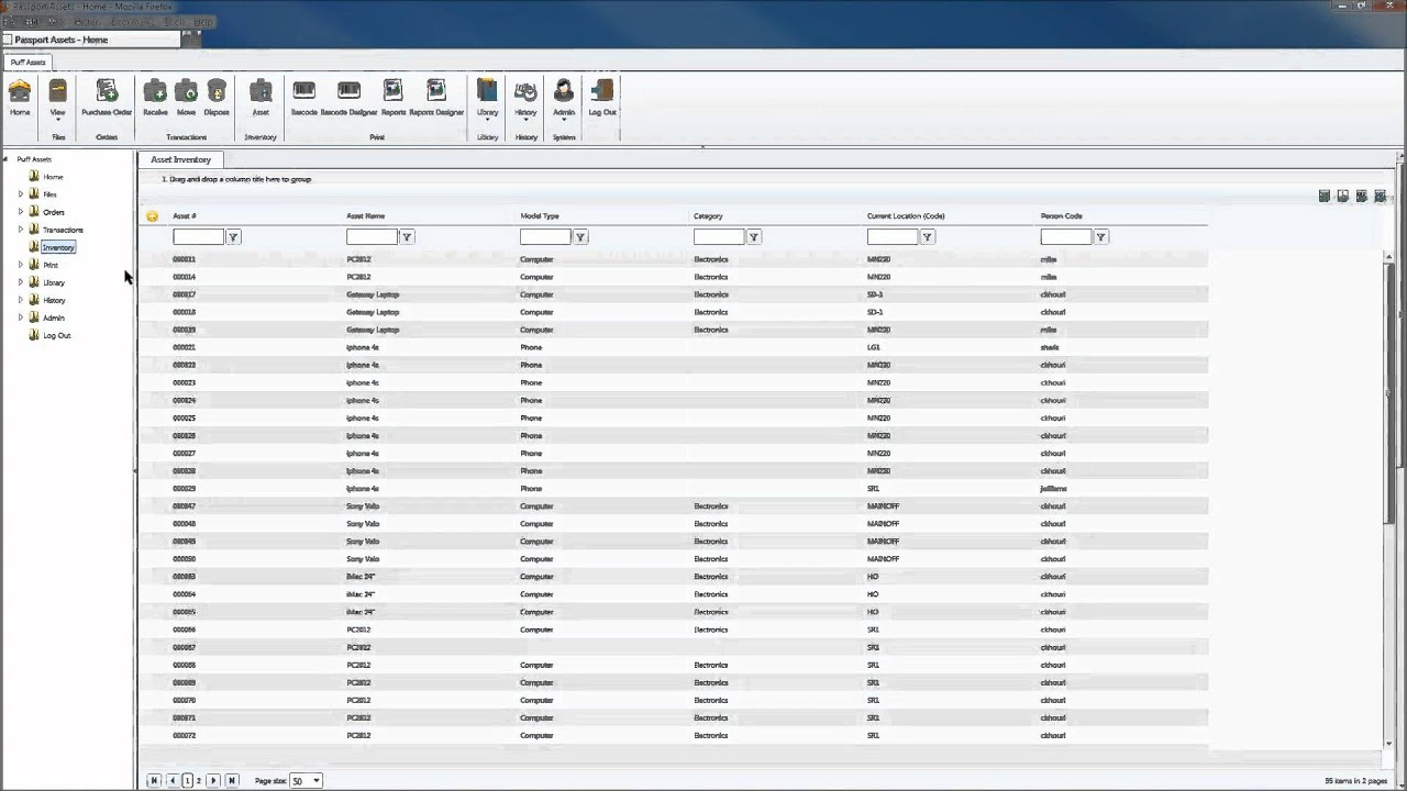 Asset Tracking Cloud Online Web Based Internet