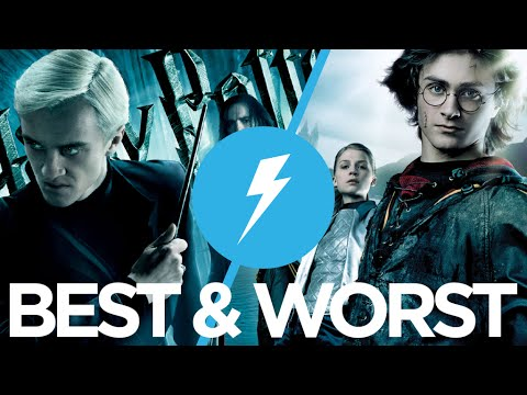 The Best & Worst Harry Potter Movies Ranked : Movie Feuds ep139