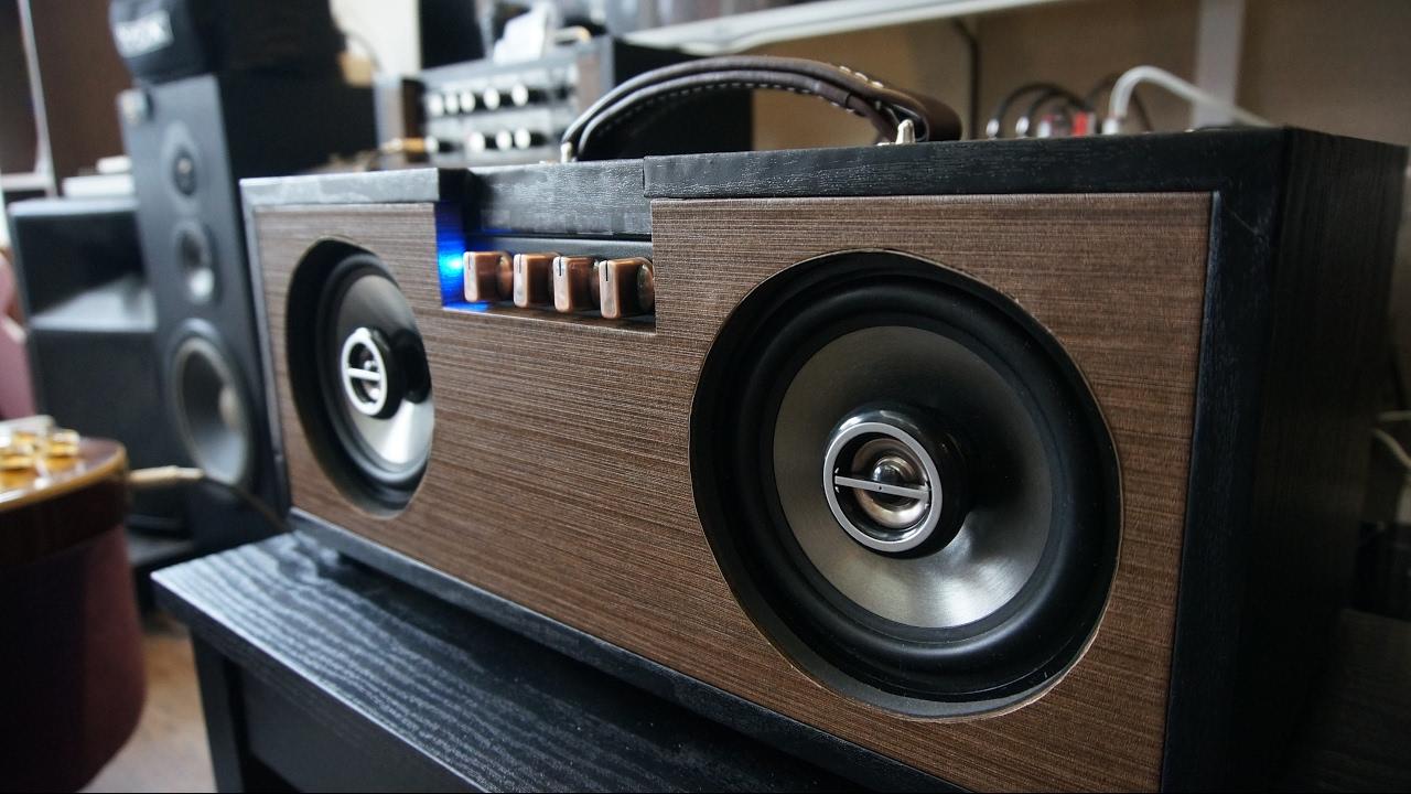 Diy Bluetooth Boombox Tpa3116 1 2