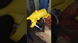 Пневмо шприц для консистентной смазки и для шприцевания ЖЕСТЬ!!!Часть 1