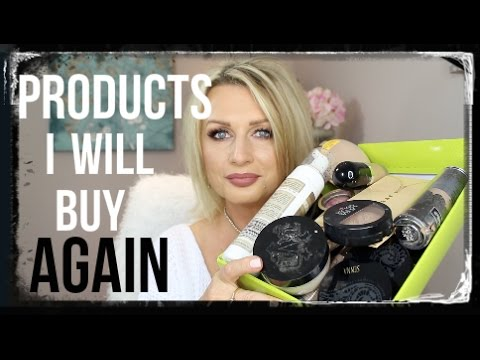 PRODUCTS I WOULD BUY AGAIN & AGAIN / #HOLYGRAILPRODUCTS