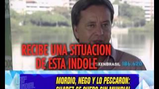 SUAREZ EXPULSADO DE LA COPA - 26-06-14