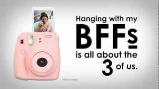 Fujifilm Instax Mini 8, BFF