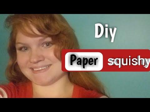Diy paper squishy sushi roll