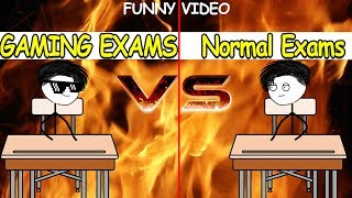 When a Gamer Has Gaming Exam Vs Normal Exam