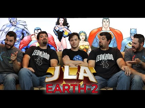 JUSTICE LEAGUE OF AMERICA: EARTH-2 | Back Issues