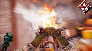 Destroying w/ OP Operator! - Rainbow Six Siege Best Moments | HikePlays