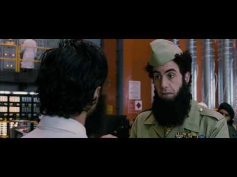A funny discussing about the Nuclear Weapon - The Dictator - HD