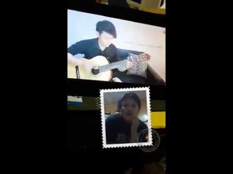 [Nathan Fingerstyle karaoke contest] Rahma Zhafyir Dharmayu -  mendem kangen