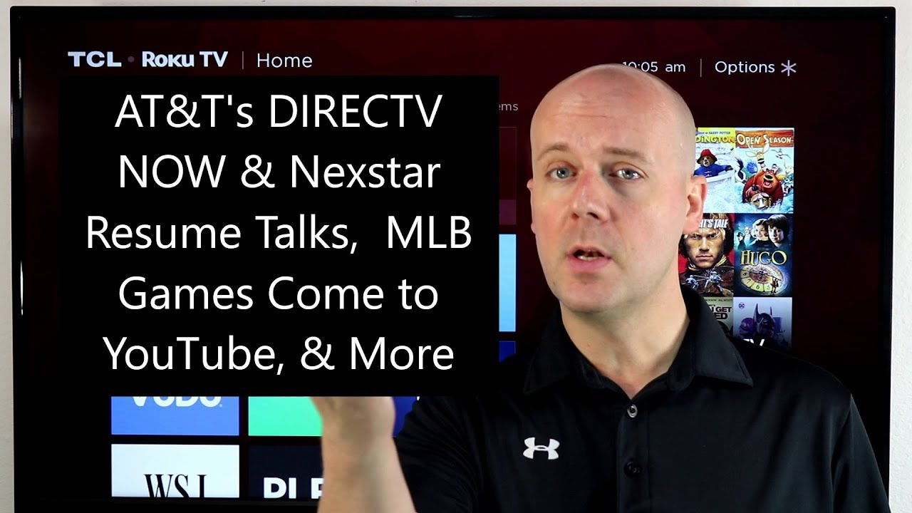 Cct 93 At T Directv Now Nexstar Resume Talks Mlb Games Come
