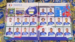 Album PANINI 100% COMPLET • RUSSIA 2018 World Cup 682 Stickers Full - Studio Bubble Tea