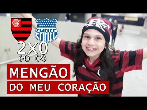 Flamengo X Emelec: Que Noite Linda No Maraca! Mengão Classificado!