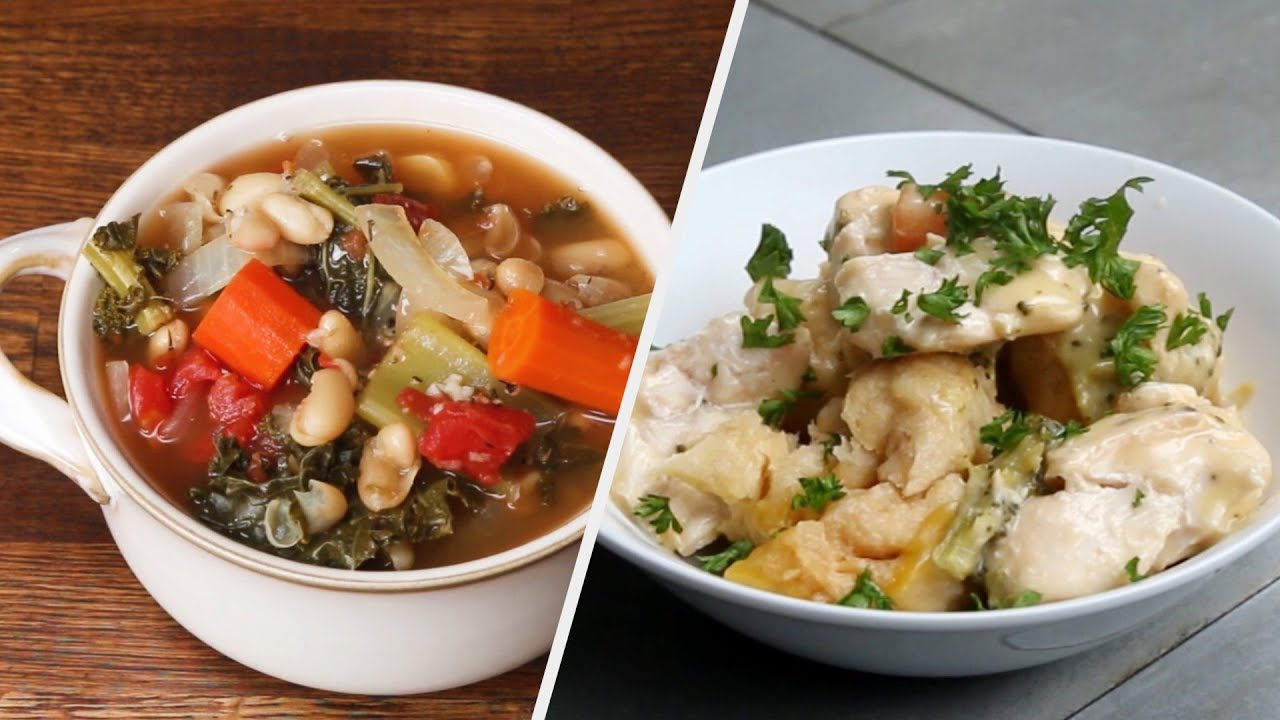 A Week's Worth Of Slow Cooker Dinners Under $50 •Tasty