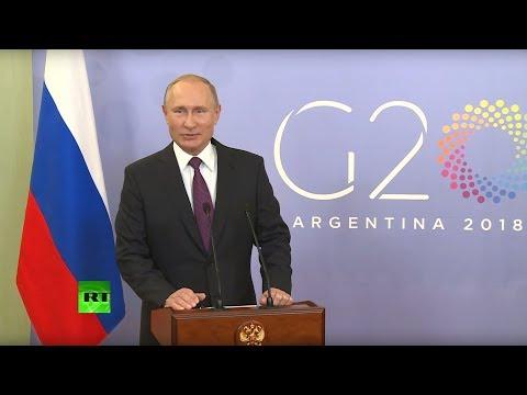 Пресс-конференция Путина в