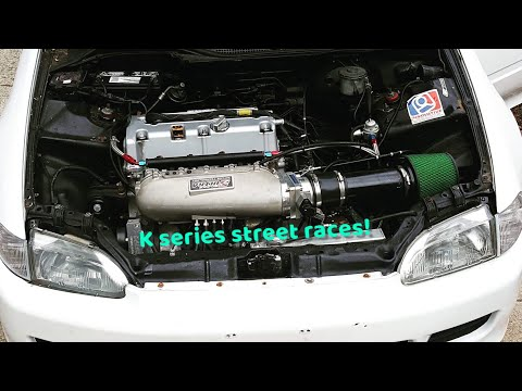 K series street races | turbo k series | Vtec | mustang races and more!