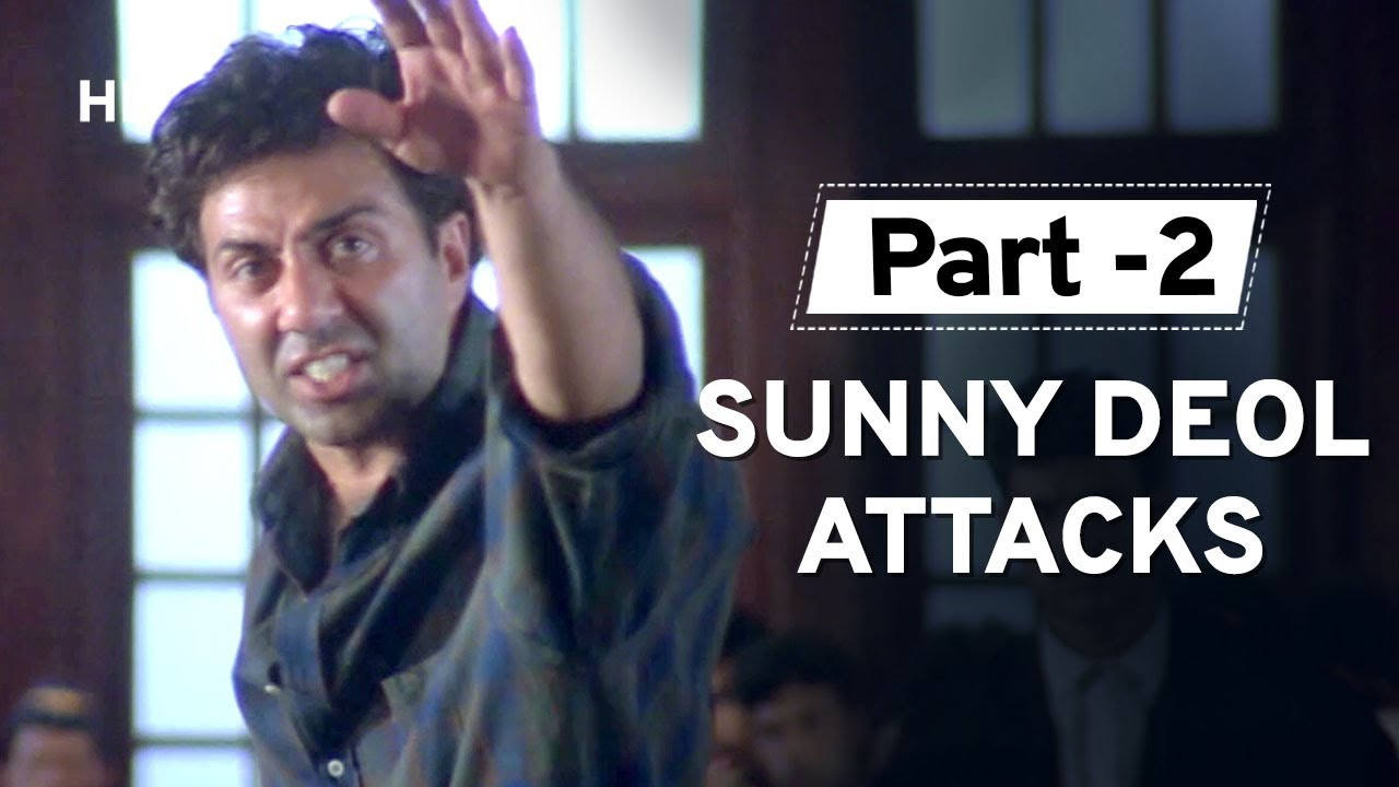 Download Sunny Deol Argument With Judge [Part 2] Salaakhen | Amrish Puri | Raveena | Anupam Kher | Action