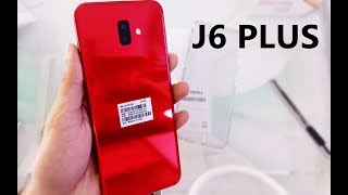 Samsung J6+ RED Unboxing & First Look - Can It Compete?