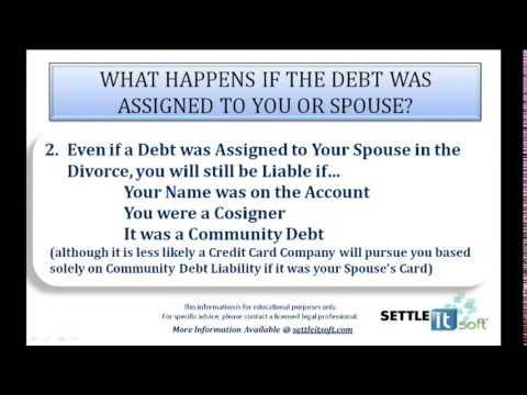 assignment of debt