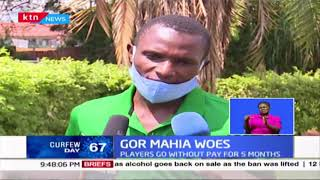 Gor Mahia woes: Players go without pay for 5 months, now relying on well-wishers