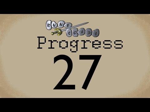 Old School Runescape Progress Video #27 Burnout  