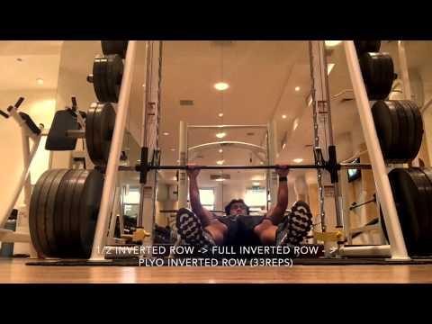 workout routine ax-2 program