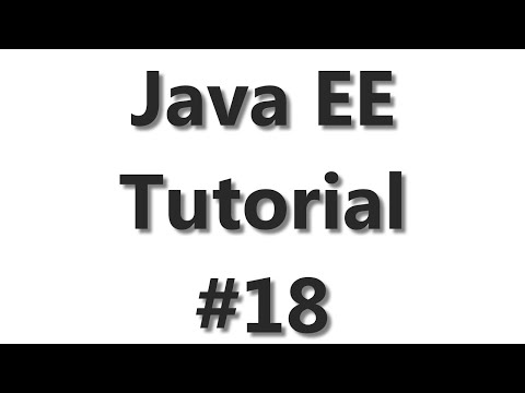 Java EE Tutorial #18 - RESTful Web  Services with Jax-RS